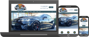 Futuristic Apps Pty Ltd - Clients - St Marys Tyre and Wheel Centre - Responsive Trio