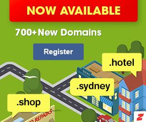 Register your new domain name with Crazy Domains.