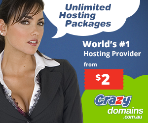 Crazy Domains offers unlimited web hosting